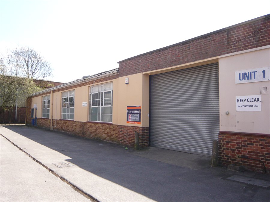 Units 1 5 armfield close estate kt8 2jr cattaneo commercial for West motor company kingston