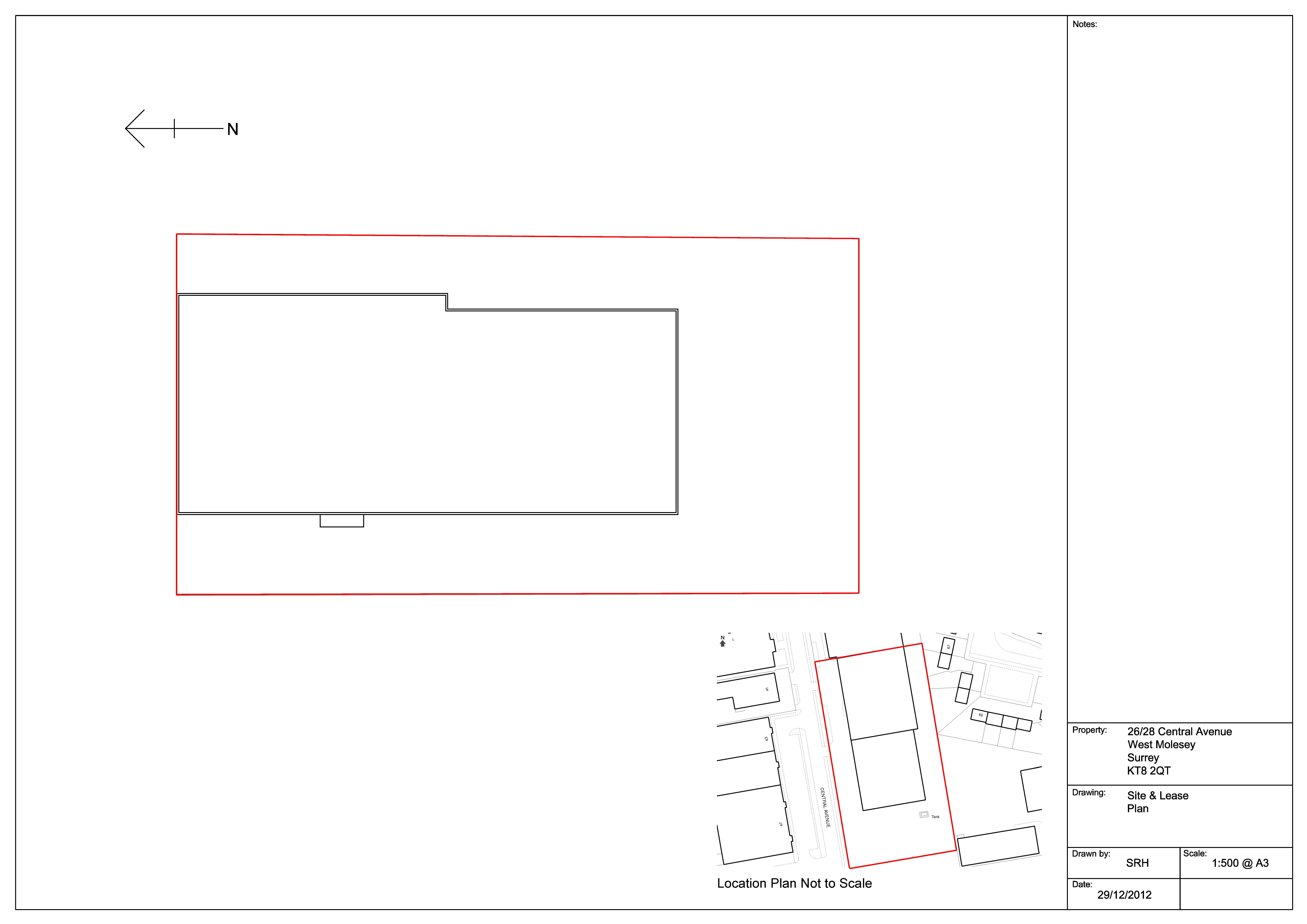 unit 6 alderson park 26 28 central avenue kt8 2qt cattaneo commercial. Black Bedroom Furniture Sets. Home Design Ideas