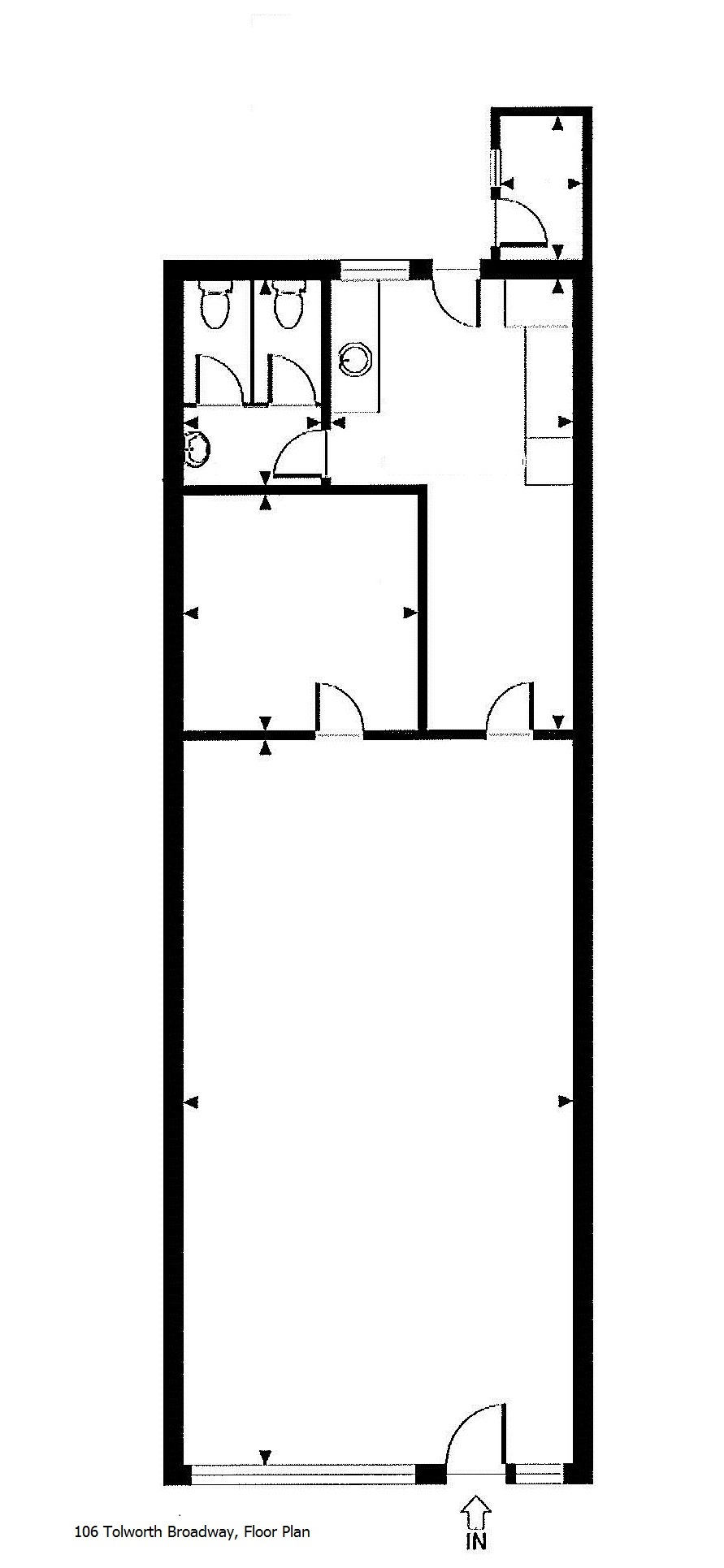 106 tolworth broadway kt6 7ht cattaneo commercial for Broadway plan